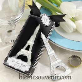 souvenir wedding Eiffel bottle opener