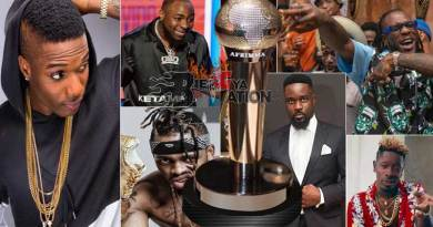 2019 AFRIMMA nominations list announced.