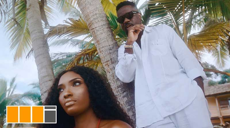 Sarkodie lucky ft Rudeboy official music video directed by Clarence Peters.