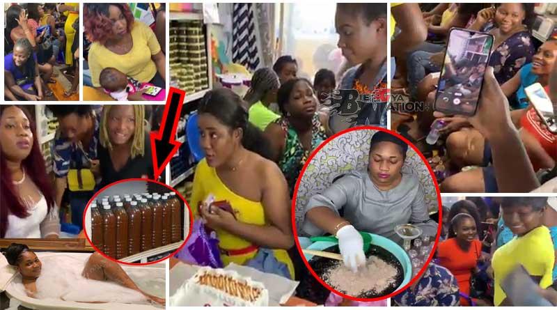 Mama Gee Juju love charm Ghanaian girls rush for.