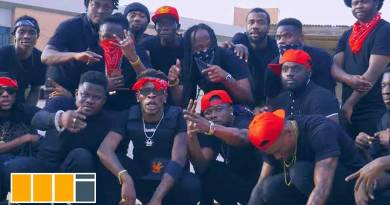 Shatta Wale Prophecy Video directed by PKMI, song produced by Paq.