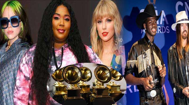 Grammy Awards 2020 nominations list Lizzo Billie Eilish Lil Nas X.