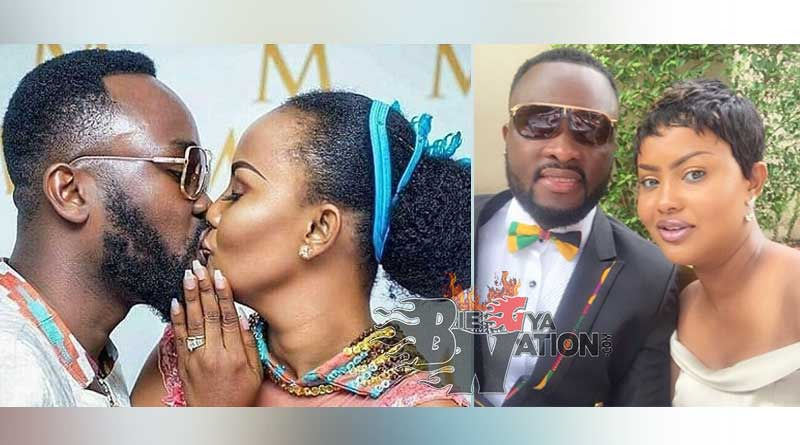 nana ama mcbrown n husband maxwell marriage wedding.