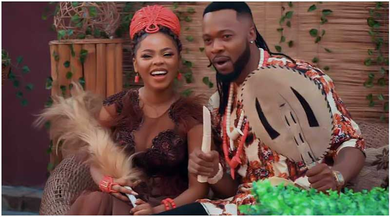 Chidinma ft Flavour Iyawo Mi Video directed by Angrybird, produced by Mixx Monsta.