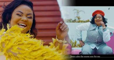 Empress Gifty Jesus Over Do Video directed by Skyweb, produced by Qwesi King.
