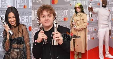 Brit Awards 2020 winners in full list Lewis Capaldi tops winners.