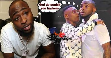 God will punish whoever is trying to hack into my account – Davido rains ⊂urses
