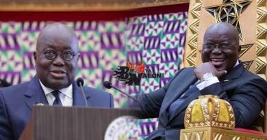 Nana Addo Dankwah Akufo-Addo State of the nation address SONA 2020.