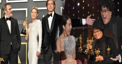 Oscars 2020 winners list, Oscars 2020 winners' list, Korean movie Parasite makes history.