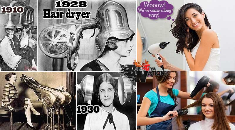 Craziest old hair dryers photos in history, who invented the hair dryer Alexander F Godefroy.