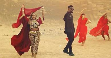 Cuppy ft Sarkodie Vybe Music Video directed by Sesan n produced by GospelOnTheBeatz.