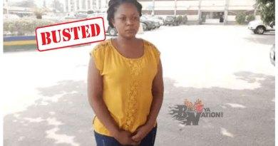Nigerian female teacher arrested for stealing pupils food.