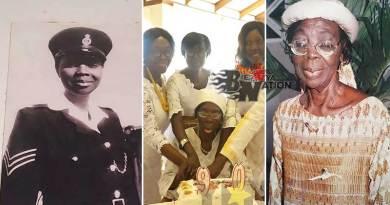 Rosemond Asiamah Nkansah is Ghana's first female police woman officer.