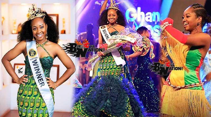 Naa winner of GMB2020 crowned Ghana Most Beautiful 2020