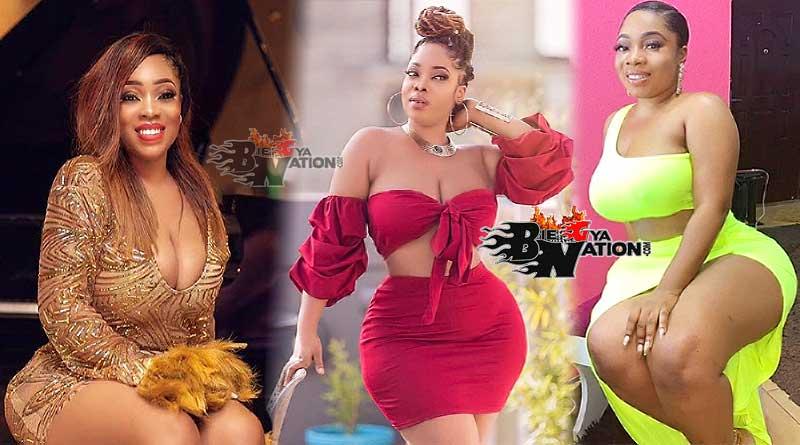 Ghanaian actress cum model Moesha Boduong