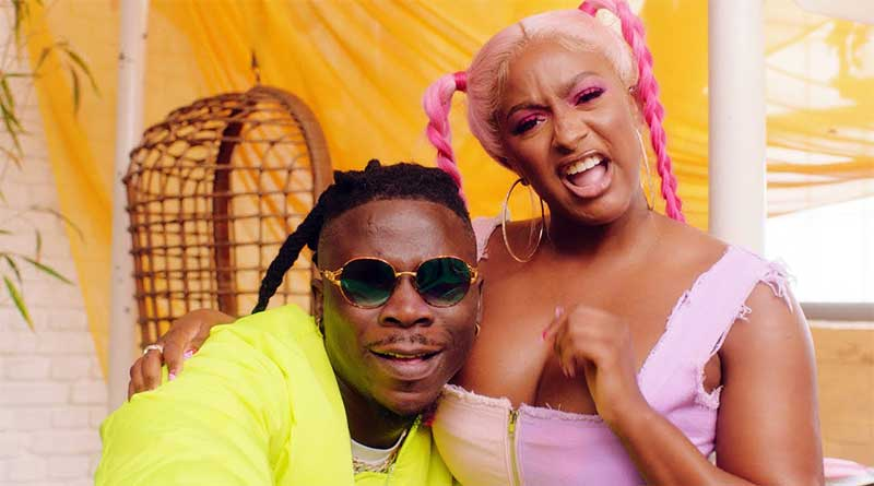 Cuppy ft Stonebwoy Karma Music Video directed by Earthboi, song produced by Killertunes