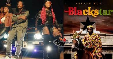 Kelvyn Boy ft Gyedu Blay Ambolley Watch Nobody Music Video directed by Yaw Skyface