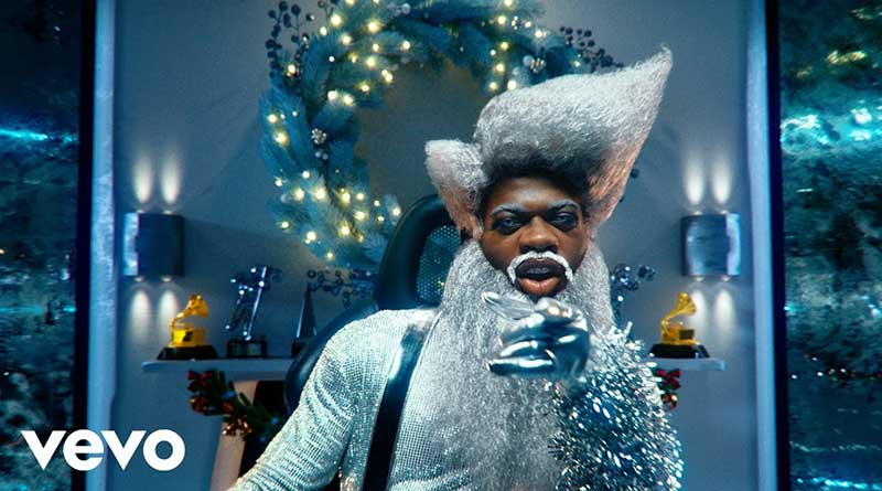 Lil Nas X Holiday Music Video directed by Gibson Hazard and Lil Nas X
