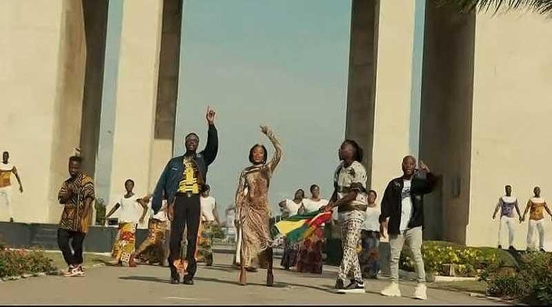 All Stars ft Stonebwoy, King Promise, Fancy Gadam, Fameye, Maccasio, Efya, Teephlow, Darkovibes, Bethel Revival Choir One People One Nation Video