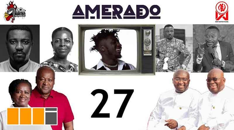 Amerado ft Bogo Blay Yeete Nsem Episode 27 NPP, NDC, Dumelo, Maa Lydia, EC Video