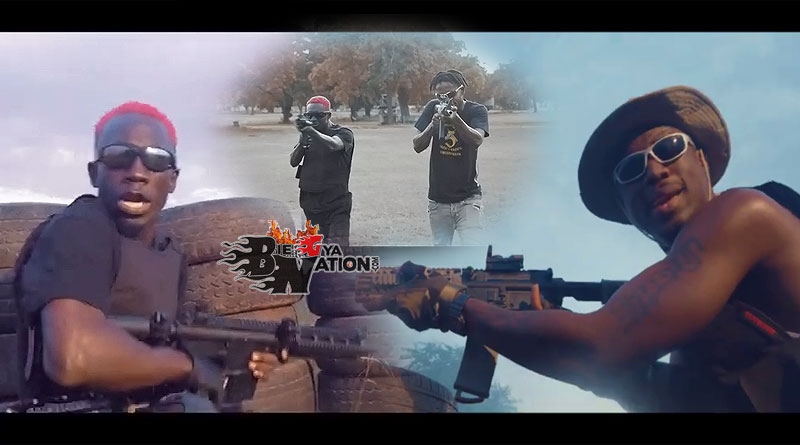 Bosom PYung ft Joey B Bang Music Video directed by Yaw Phanta, song produced by Atown
