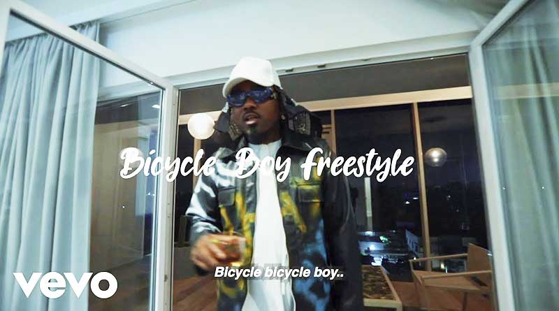 Ice Prince Bicycle Boy Freestyle Music Video