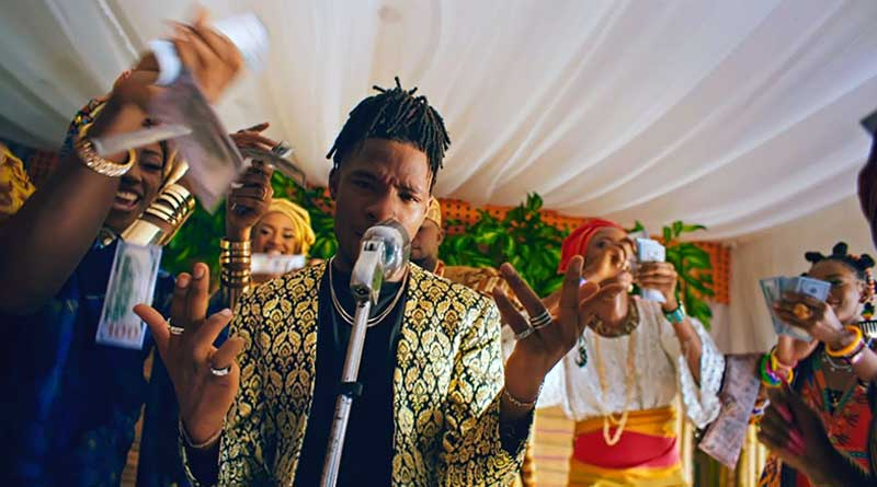 Joeboy ft Laycon Ckay Blaqbonez Jinmi Abduls Celebration Video directed by Dammy Twitch.