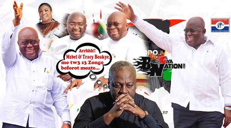 Nana Addo Dankwa Akufo-Addo wins the 2020 presidential elections, defeats John Mahama again.