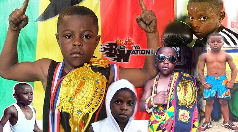 Prince The Buzz Larbie Biography, age, parents, boxing career, titles, wins, Olympic world champion