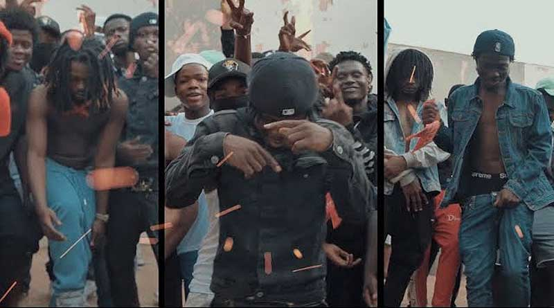 Reggie ft City Boy JayBahd Okenneth Sean Lifer Geng Geng Music Video directed by Yaw Phanta.