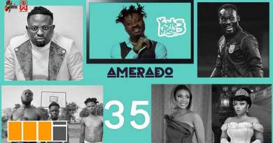 Amerado ft Tee Rhyme Yeete Nsem Episode 35 video Yaw Tog, Michael Essien, Brother Sammy, Moesha Boduong, Stormzy