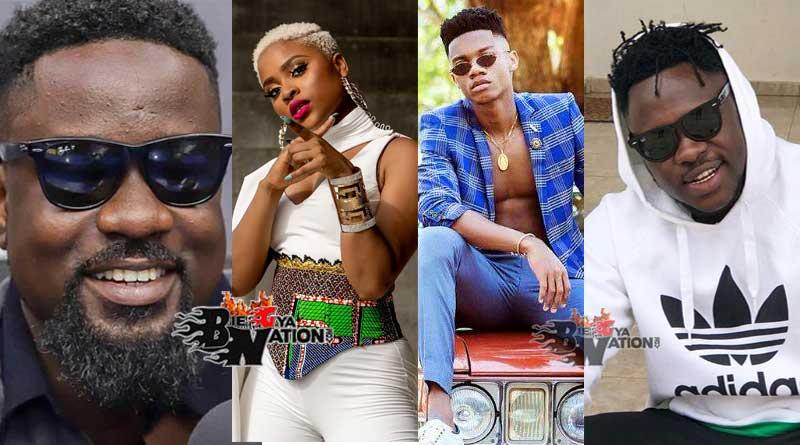 VGMA 2021 Full List Of Nominees Vodafone Ghana Music Awards 2021 nominations list.