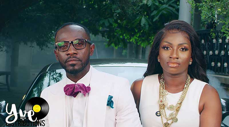 Ateaa Tina ft Okyeame Kwame By Force Music Video directed by Rex, song produced by Kaywa Highly Spiritual Music.