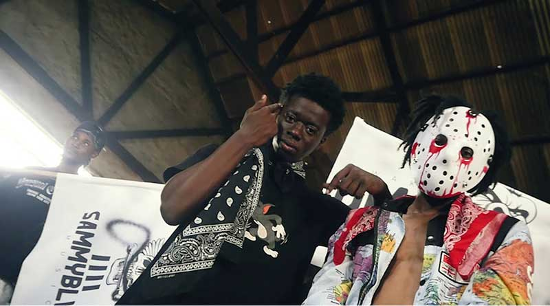 Sammy Black ft Kwaku DMC Ehu Official Music Video directed by Cosmos Boakye, song produced by Rico Rundat, Mixed by Freddy Beats.