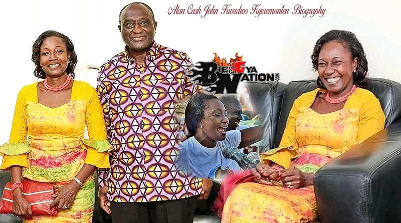 Alan Cash John Kwadwo Kyeremanten and his wife, Madam Patricia Christabel Kyerematen and children Alexander and Victor.