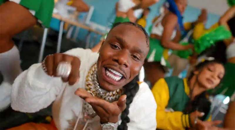 DaBaby performing Ball If You Want To Music Video directed by DaBaby, song produced by Billion Dollar Baby Ent.