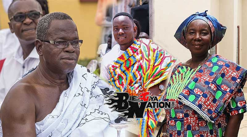 NYDJ Ebenezer Nana Yaw Donkor parents father Mr John Wesley Donkoh Snr, and mother family.
