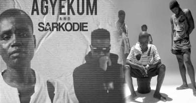 Hammer Of The Last Two ft Agyekum & Sarkodie performing Ohohuo Asem Official Music Video directed by Salifu Abdul Hafiz.