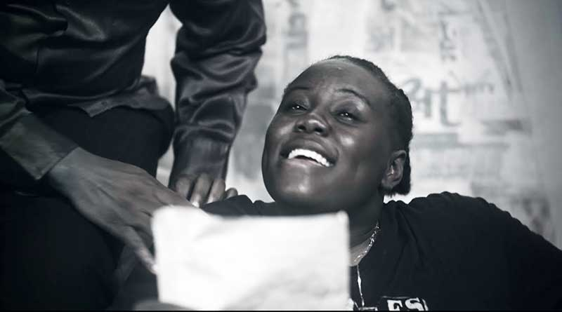 Teni performing Hustle Official Music Video directed by TG Omori, song produced by Pheelz.