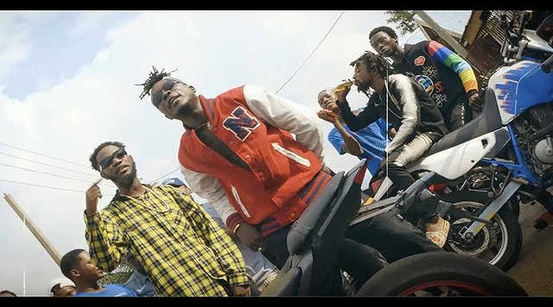 Ypee featuring Kofi Jamar performing Ten Toes Music Video directed by Cosmos Boakye, song produced by Sickbeatz.