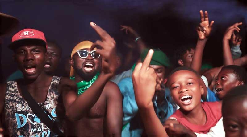 Bogo Blay performing Serwaa Music Video.