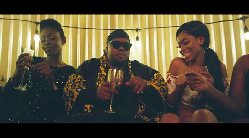 Fuse ODG and Heavy-K performing On A Million Music Video
