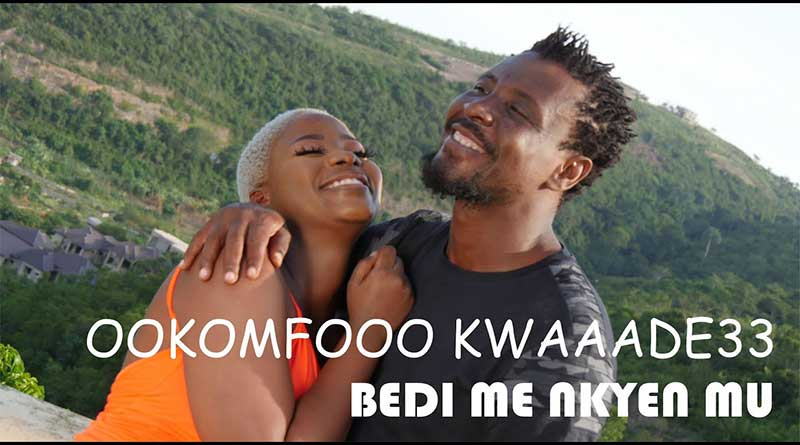 Ookomfour Kwaade33 performing Bedi Me Nkyen Mu Music Video directed by Hammer Time and BigWillies, song produced by Quick Action.