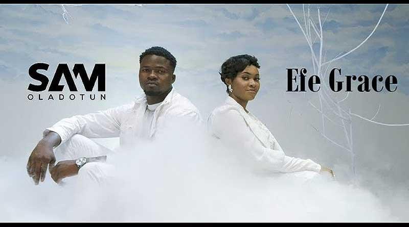 Sam Oladotun featuring Efe Grace performing Ayeyi Music Video.
