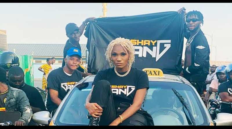 Ghanaian singer Wendy Shay premiers Heat Music Video.