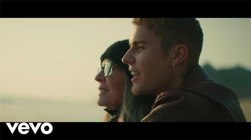 Justin Bieber premiers Ghost Music Video.