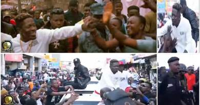 shatta wale only dem viral video.
