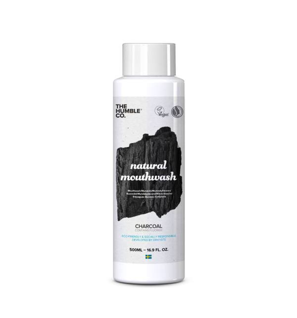 Mouthwash Charcoal Packaging