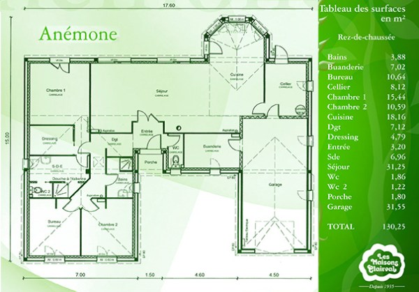 plan anemone maisons clairval