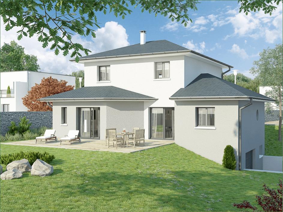 maison avec sous sol sur terrain en pente ventana blog. Black Bedroom Furniture Sets. Home Design Ideas